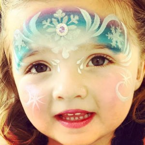 princess face paint ct